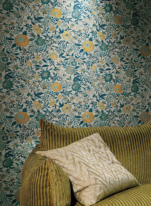 Oriental Garden Wallpaper In Warm Grey And Orchid By Missoni Home For York  Wallcoverings