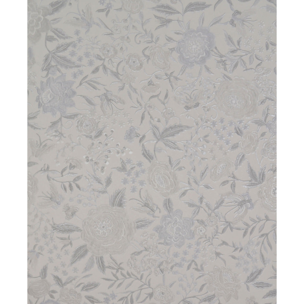 Oriental Garden Wallpaper in Pearlescent and Silver by Missoni Home ...