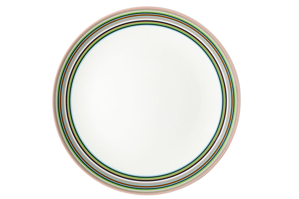 Origo Plate in Various Sizes & Colors design by Alfredo Häberli for Iittala