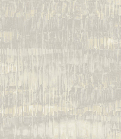 Oxide Wallpaper in Cream, Silver, and Grey from the Aerial Collection by Mayflower Wallpaper