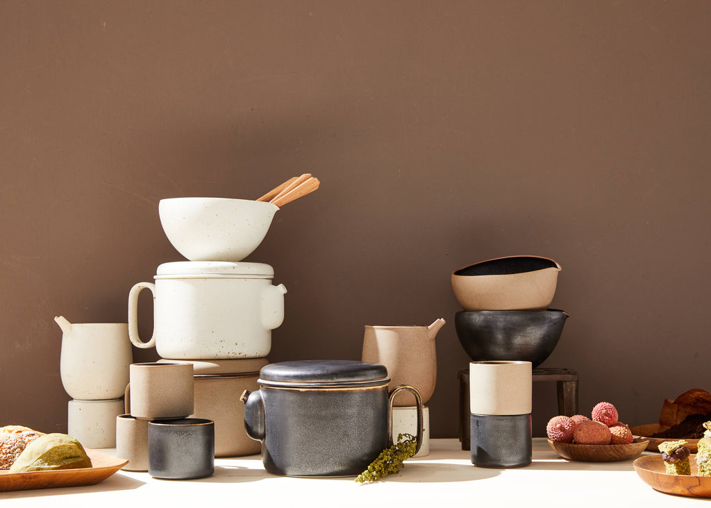 Ozu Ceramic Creamer in Various Colors