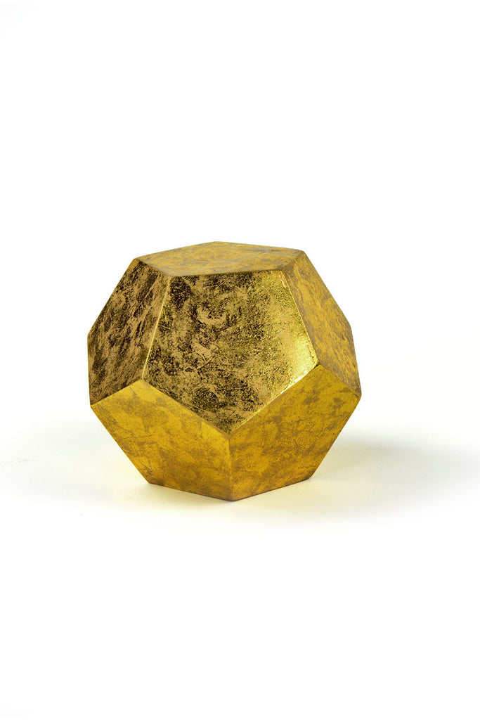 Gold Leaf Display Cube design by Vagabond Vintage