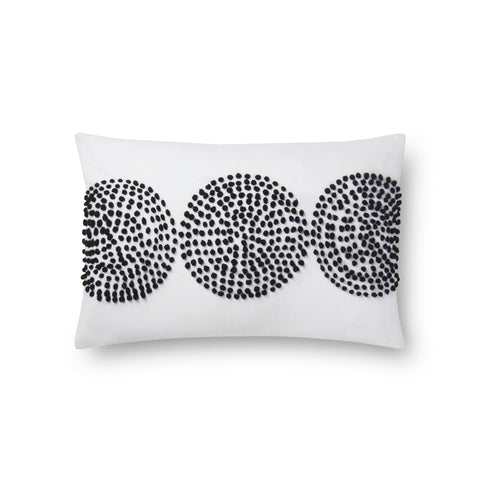 Natural & Black Pillow by Justina Blakeney × Loloi