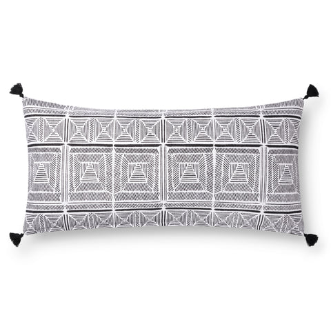 Black & White Pillow by Justina Blakeney × Loloi
