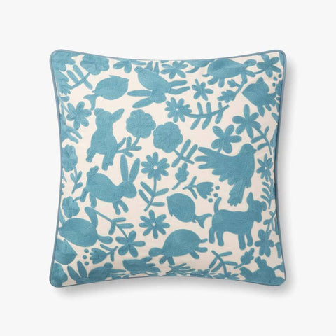 Light Blue Pillow by ED Ellen DeGeneres Crafted by Loloi
