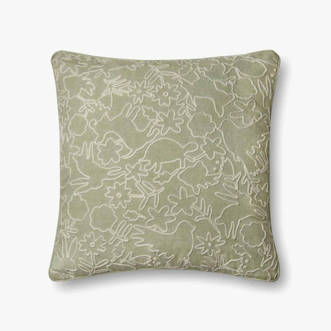 Sage Pillow by ED Ellen DeGeneres Crafted by Loloi