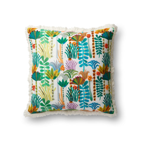 Embroidered Pillow by Justina Blakeney × Loloi