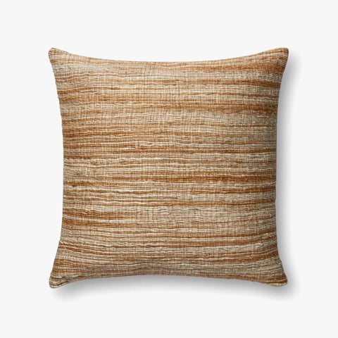 Camel & Beige Pillow by ED Ellen DeGeneres Crafted by Loloi