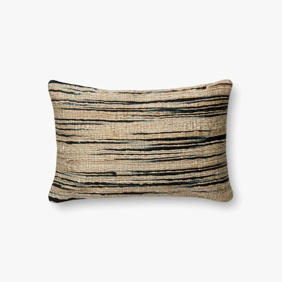 Navy & Beige Pillow by ED Ellen DeGeneres Crafted by Loloi