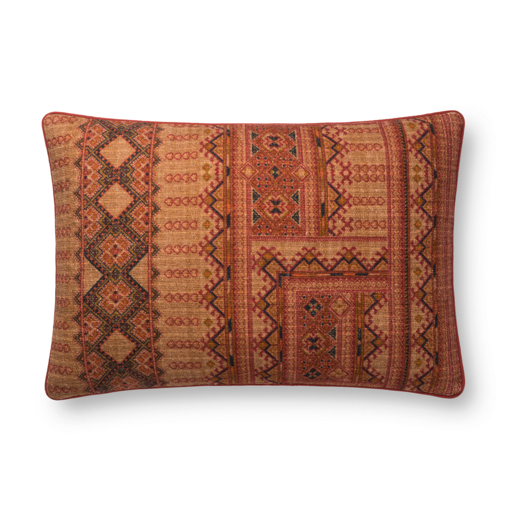 Rust Pillow by Justina Blakeney × Loloi
