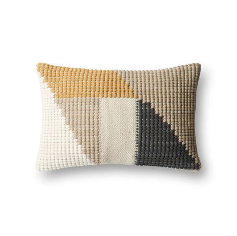 Teal & Multi Indoor/Outdoor Pillow by Loloi