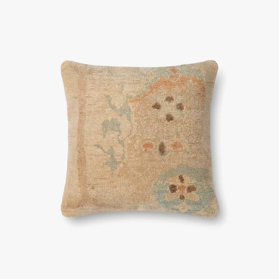 Beige & Green Pillow by ED Ellen DeGeneres Crafted by Loloi