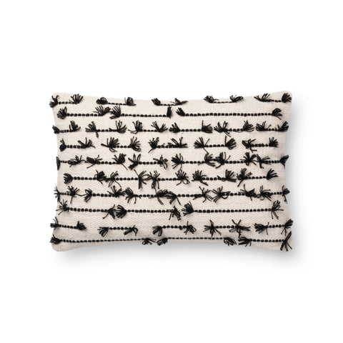 White & Black Pillow by Justina Blakeney × Loloi