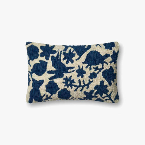 Navy & Ivory Pillow by ED Ellen DeGeneres Crafted by Loloi