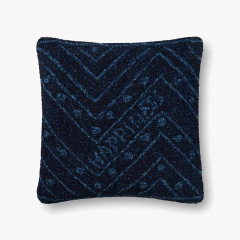 Navy Pillow by ED Ellen DeGeneres Crafted by Loloi