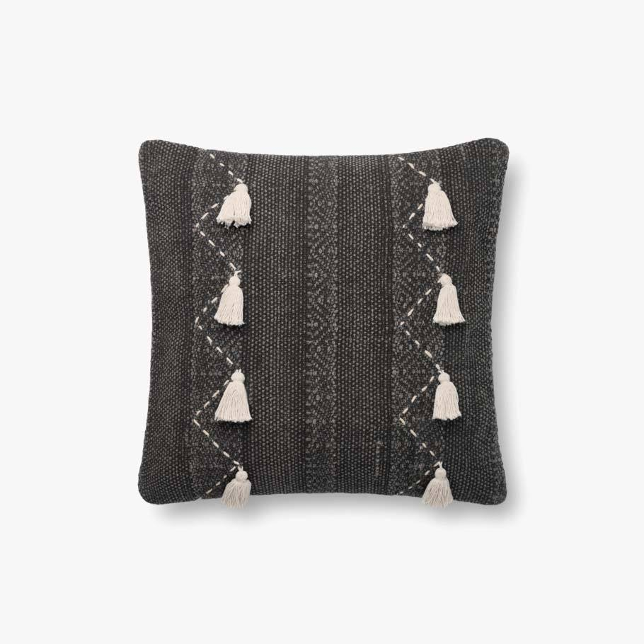 Charcoal & Natural Pillow by ED Ellen DeGeneres Crafted by Loloi