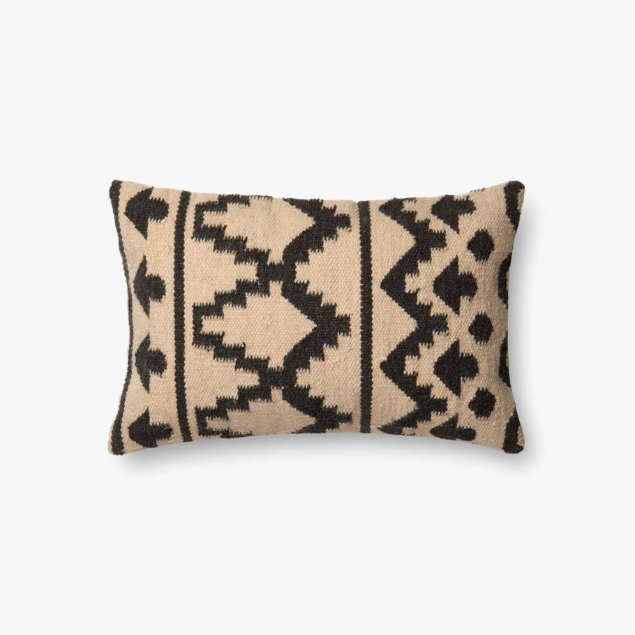 Ivory & Black Pillow by ED Ellen DeGeneres Crafted by Loloi
