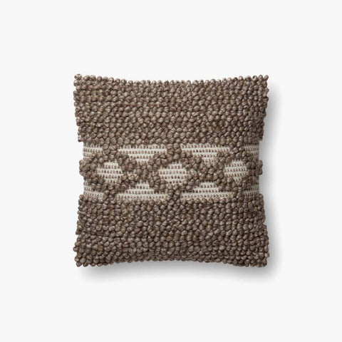 Taupe Pillow by ED Ellen DeGeneres Crafted by Loloi