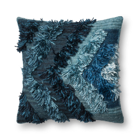 Indigo Pillow by Justina Blakeney × Loloi