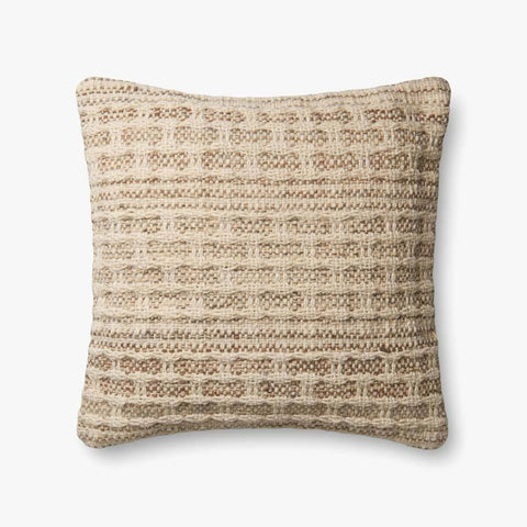 Ivory & Slate Pillow by ED Ellen DeGeneres Crafted by Loloi