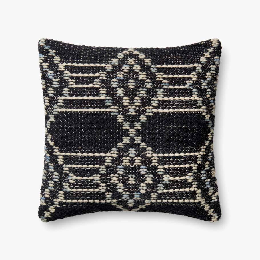 Navy & Multi-Colored Pillow by ED Ellen DeGeneres Crafted by Loloi