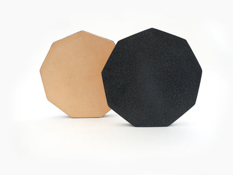 Black Granite Trivet in Various Shapes design by Fort Standard