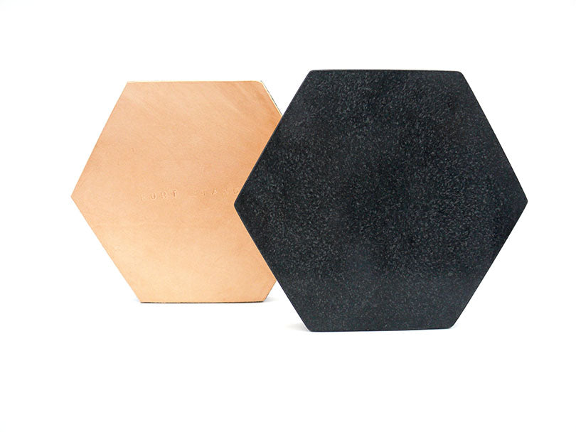 Black Granite Trivet in Various Shapes design by FS Objects