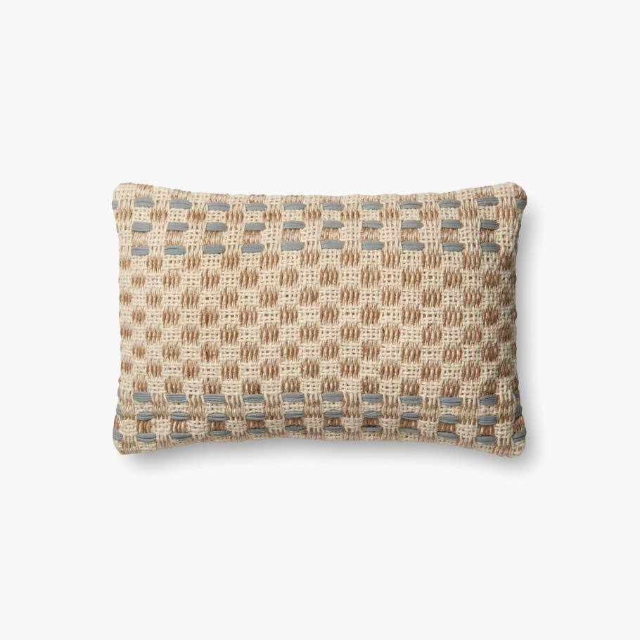 Slate & Multi-Colored Pillow by ED Ellen DeGeneres Crafted by Loloi