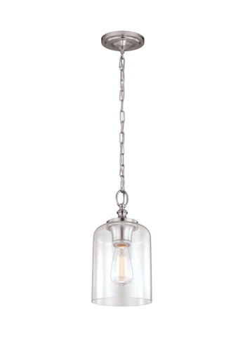 Hounslow Clear Glass Mini Pendant by Feiss