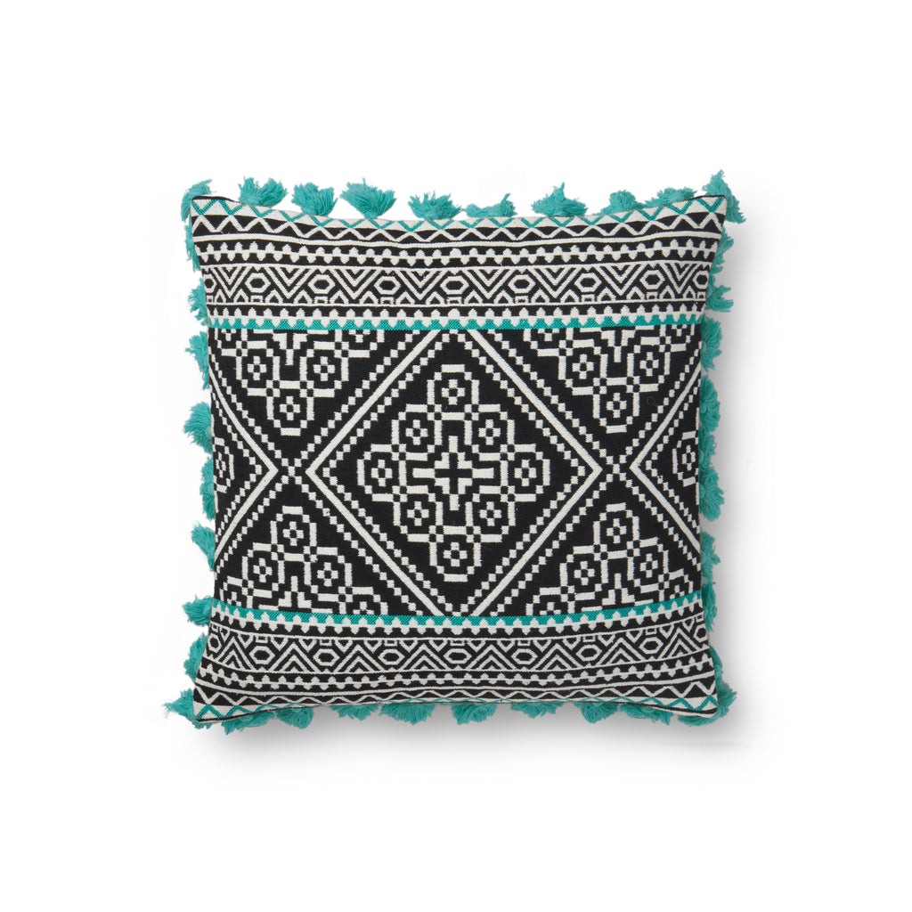 Multi Colored Pillow by Justina Blakeney × Loloi