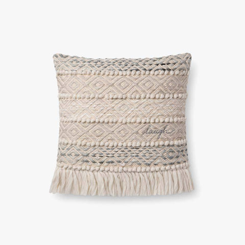Grey & Natural Pillow by ED Ellen DeGeneres Crafted by Loloi
