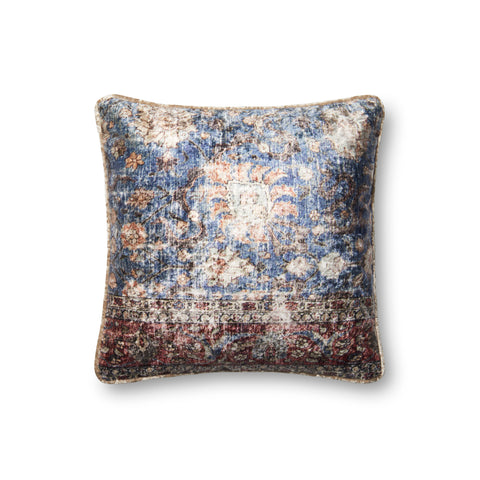 Blue & Multi Pillow