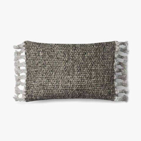 Grey & Ivory Pillow by ED Ellen DeGeneres Crafted by Loloi