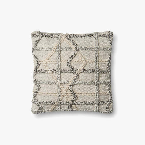 Natural & Grey Pillow by ED Ellen DeGeneres Crafted by Loloi