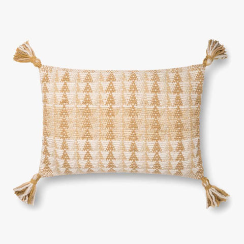Gold & Natural Pillow by ED Ellen DeGeneres Crafted by Loloi