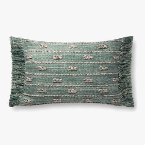 Blue & Green Pillow by ED Ellen DeGeneres Crafted by Loloi