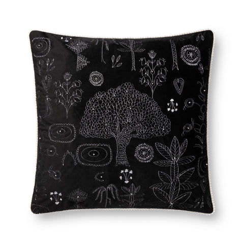Black Pillow by Justina Blakeney × Loloi