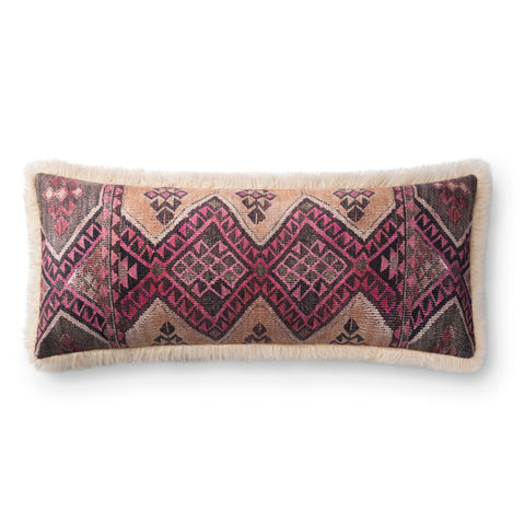 Multi & Ivory Pillow by Loloi