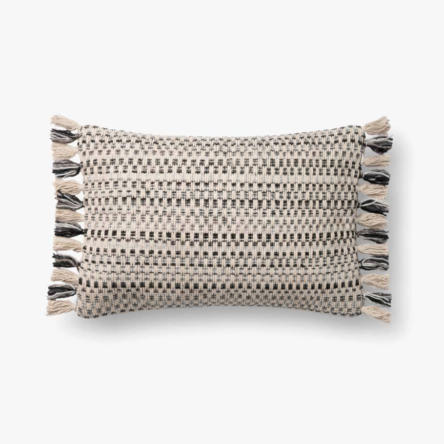 Natural & Black Pillow by ED Ellen DeGeneres Crafted by Loloi