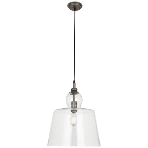 Albert Collection Pendant in Various Sizes + Finishes by Robert Abbey