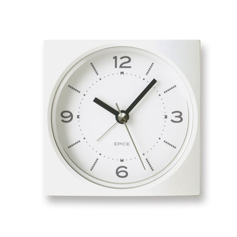 Epise Alarm Clock in White