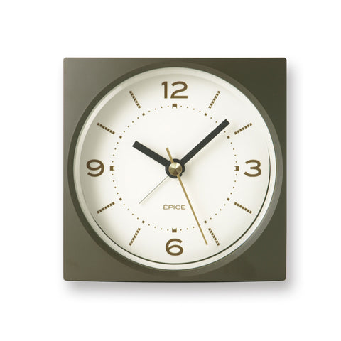 Epise Alarm Clock in Khaki