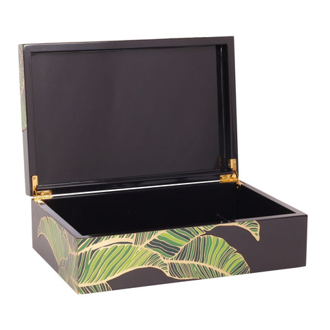 Palm Box in Black design by Selamat