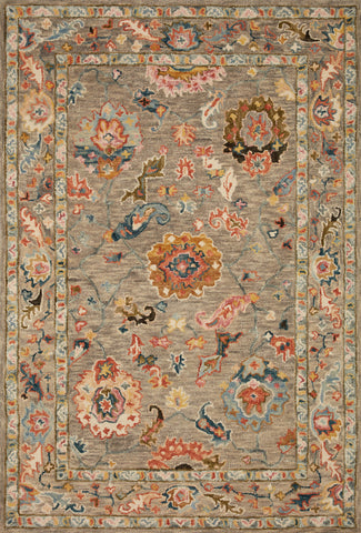 Padma Rug in Grey / Multi by Loloi