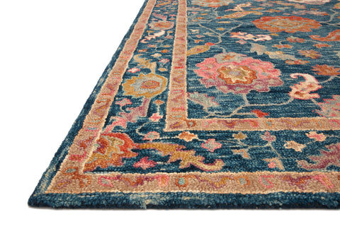 Padma Rug in Marine / Multi by Loloi