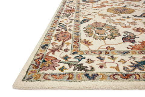 Padma Rug in White / Multi by Loloi