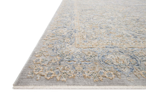 Pandora Rug in Stone & Gold by Loloi