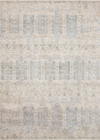 Pandora Rug in Ivory & Mist by Loloi