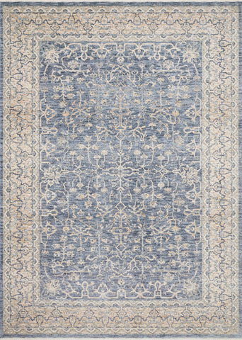Pandora Rug in Dark Blue & Ivory by Loloi