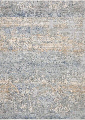 Pandora Rug in Blue & Gold by Loloi